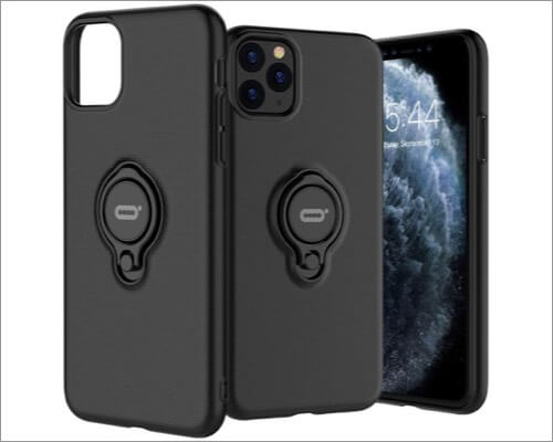 ICONFLANG Ring Holder Case for iPhone 11 Pro Max from DESOF