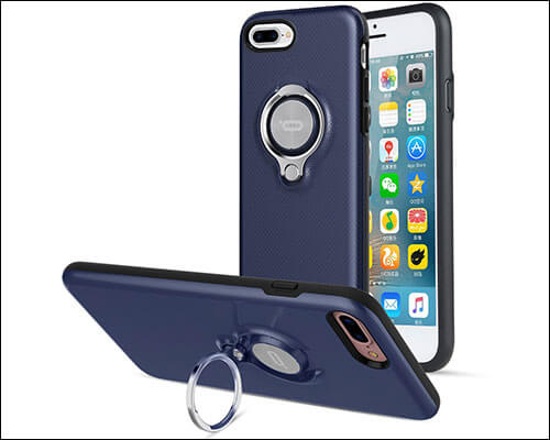 ICONFLANG iPhone 7 Plus Ring Holder Case