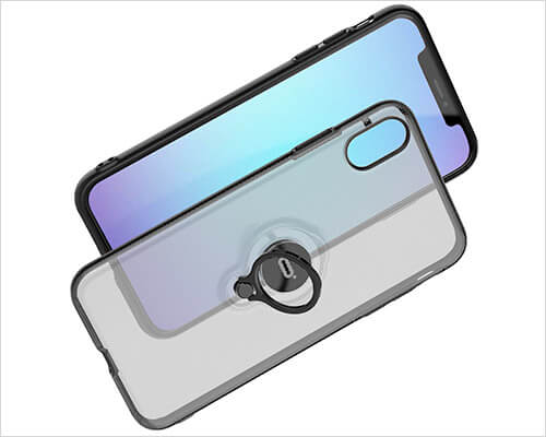 ICONFLANG iPhone Xs Ring Holder Case
