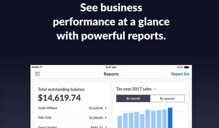 INVOICE2GO iPad App Screenshot