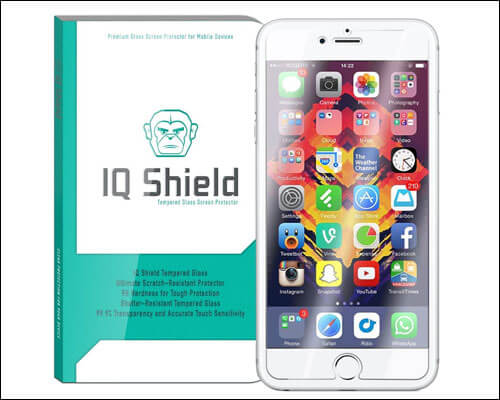 IQ Shield iPhone 7 Plus Tempered Glass Screen Protector