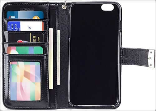 IZENGATE Wallet Case for iPhone 6 Plus