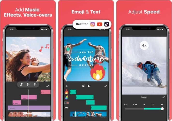 InShot - Video Editor iPhone App to Add Music to Video