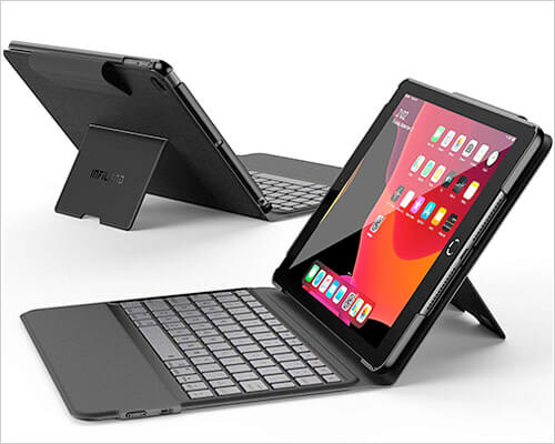 Infiland Keyboard Case for iPad 7th Generation 10.2-inch