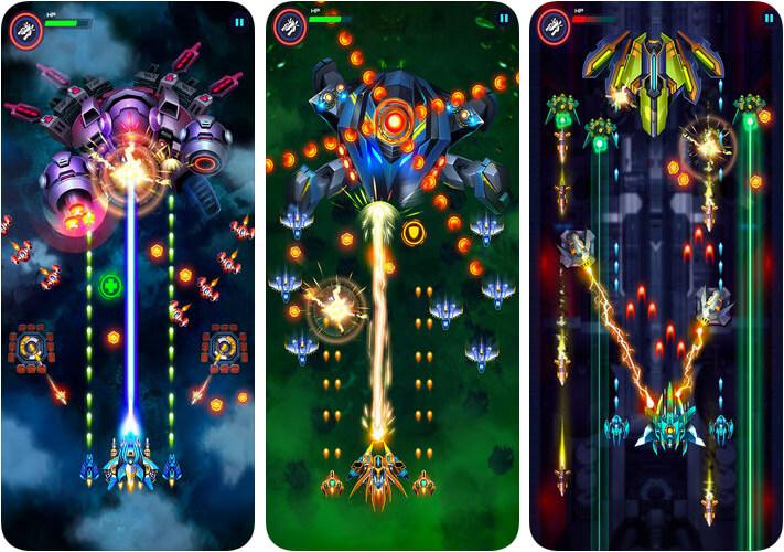Infinity Shooting iPhone and iPad Space Shooter Game Screenshot