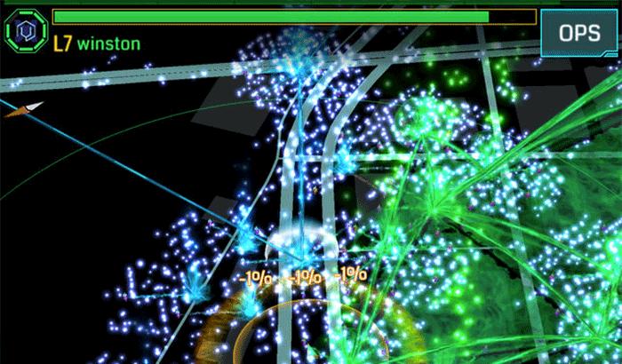 Ingress iPhone and iPad Game Screenshot