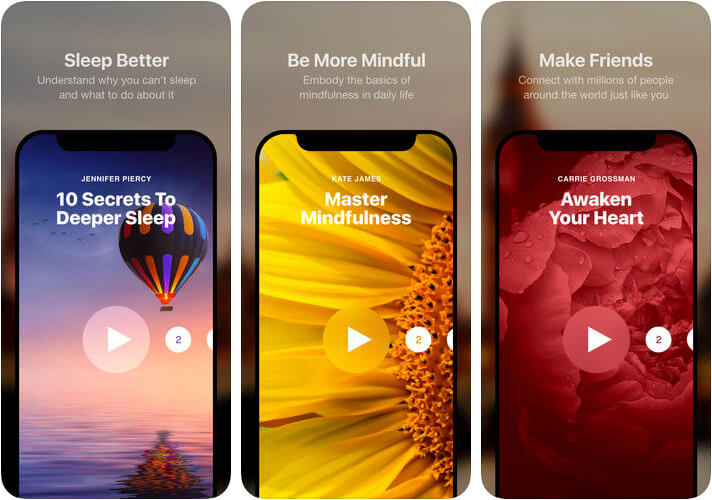 Insight Timer iPhone and iPad Meditation App Screenshot
