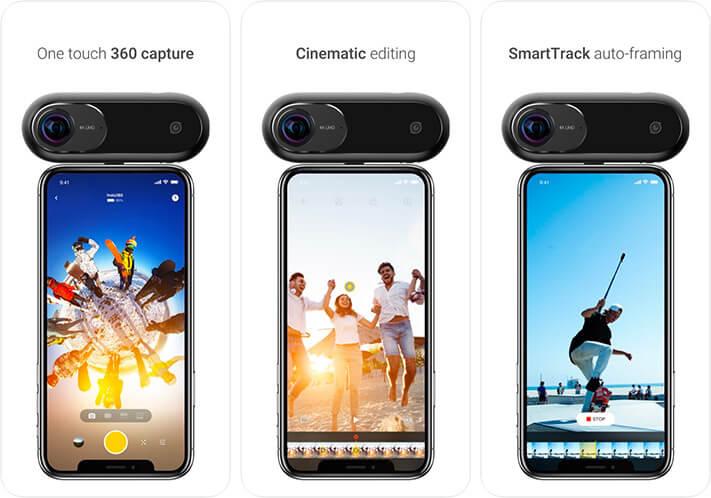 Insta360 ONE 360 Degree PhotoVide iPhone Panorama App Screenshot