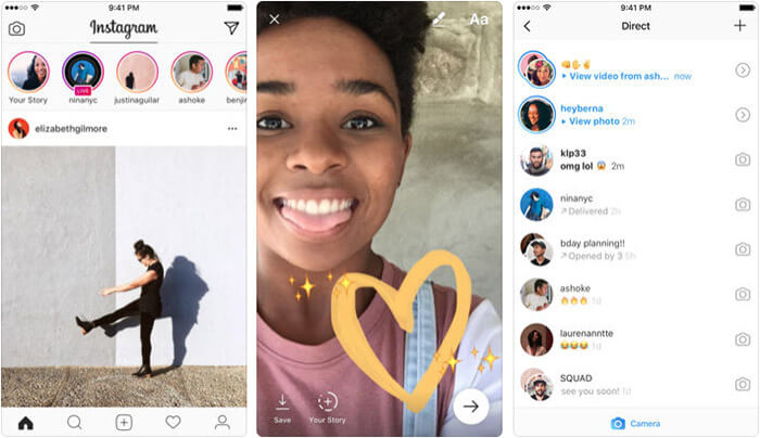Instagram iPhone and iPad App Screenshot