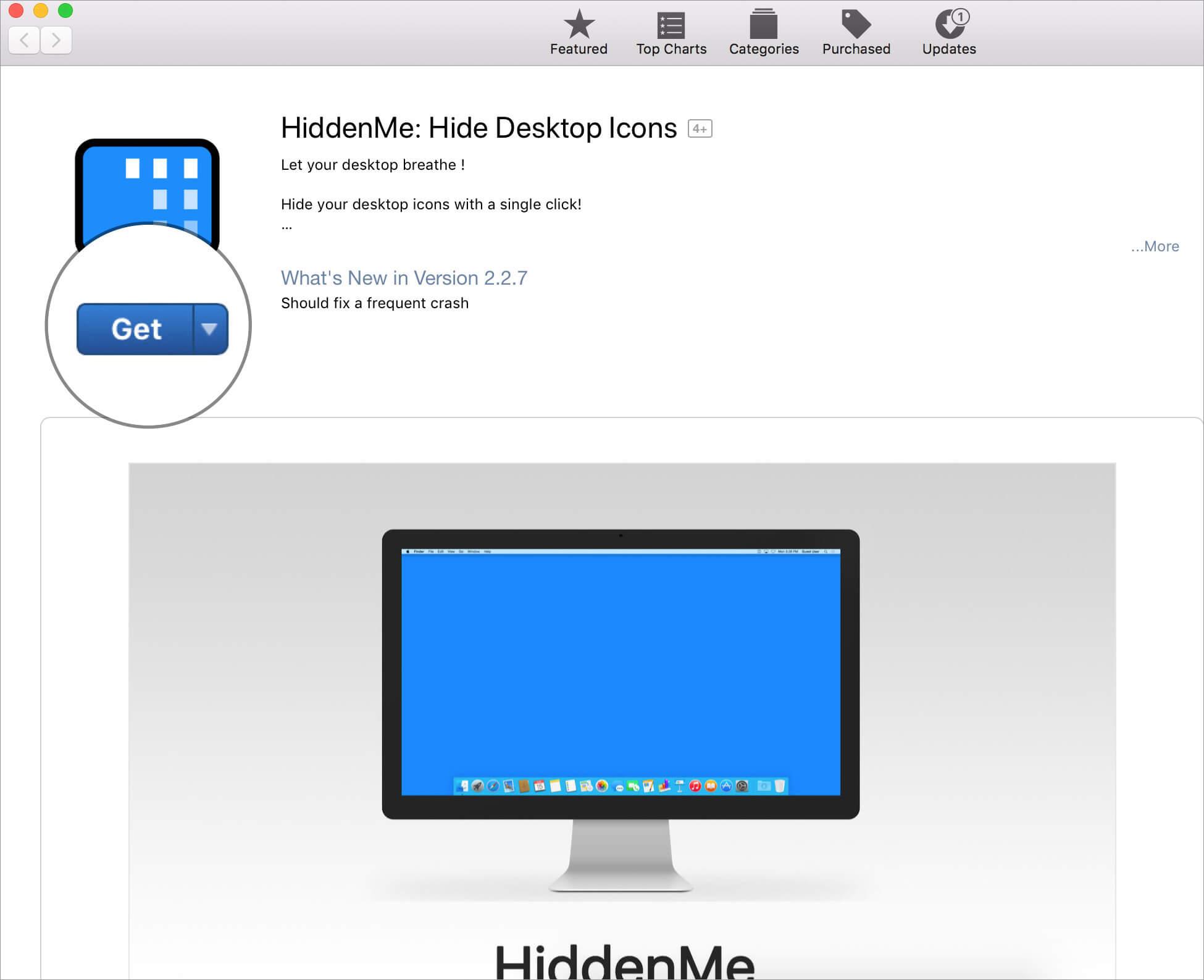Install HiddenMe App on Mac