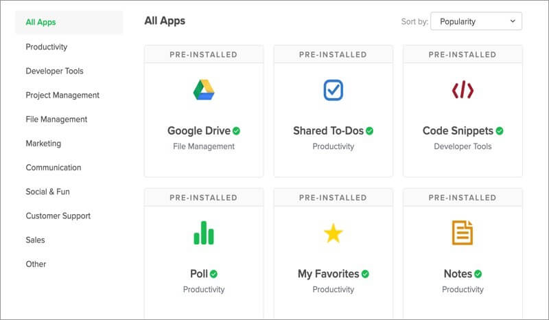 Integrate Third-Party Apps with Flock App