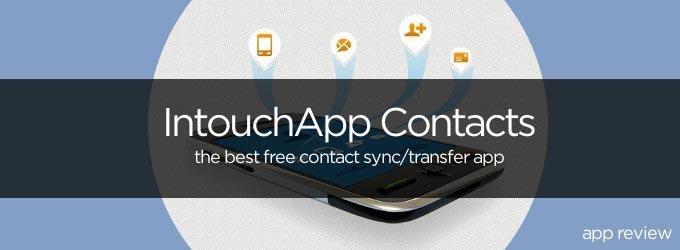 Intouchapp Contacts iPhone App