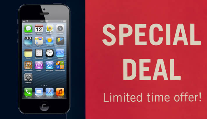 Irresistible Offers for iPhone