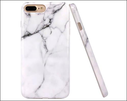 JAHOLAN iPhone 7 Plus Marble Case