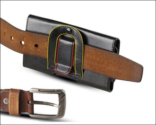 J&D iPhone 8 Belt Clip Case