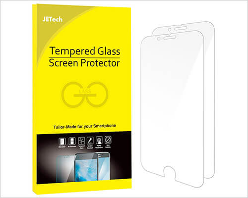 JETech Glass Screen Protector for iPhone 6-6s