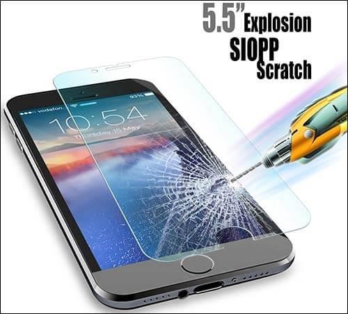 JETech Premium iPhone 6 Plus Tempered Glass