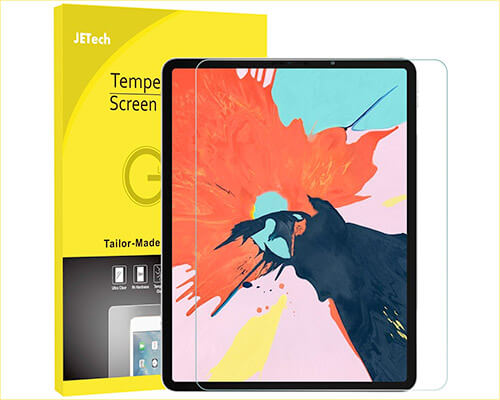 JETech Screen Protector for iPad Pro 12.9-Inch 2018