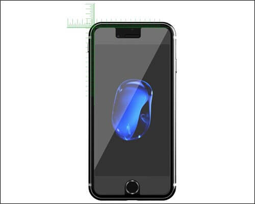 JETech Screen Protector for iPhone 7 Plus