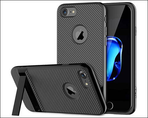 JETech Slim-Fit iPhone 8 Kickstand Case