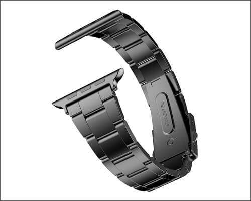 JETech Stainless Steel Replacement Band for Apple Watch 4