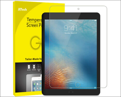 JETech Tempered Glass Screen Protector for 2019 iPad Mini