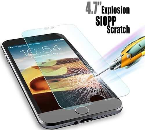 JETech iPhone 6 Tempered Glass Screen Protector