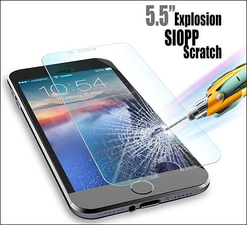 JETech iPhone 6s Plus Screen Protector
