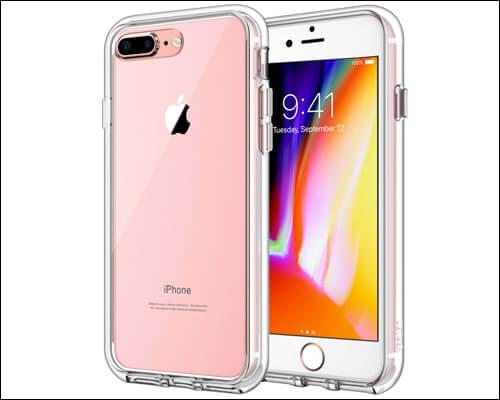 JETech iPhone 8 Plus Clear Case