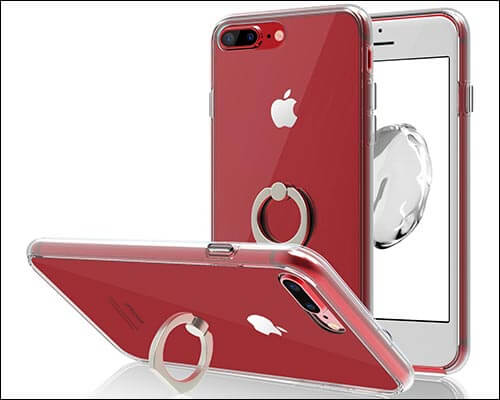 JETech iPhone 8 Plus Ring Holder Case