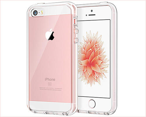 JETech iPhone SE and iPhone 5s Clear Case