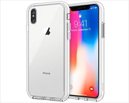 JETech iPhone X Clear Case