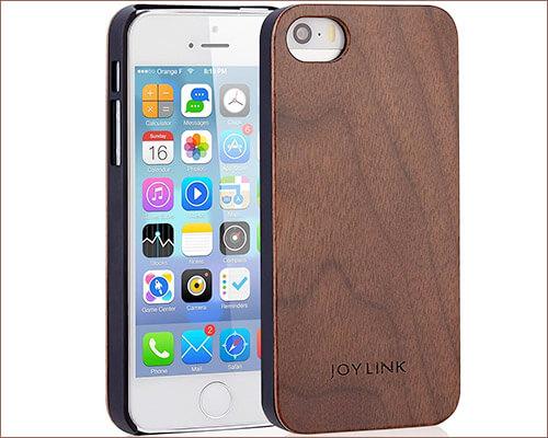 JOYLINK Wooden Case for iPhone SE