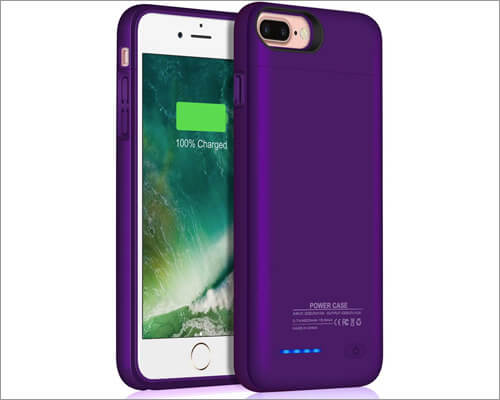 JUBOTY Battery Case for iPhone 7 Plus