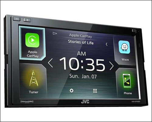 JVC KW-M740BT Apple CarPlay Stereo