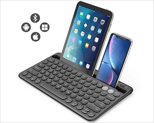 Jelly Comb Bluetooth Keyboard for iPhone 7-7 Plus