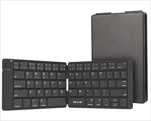 Jelly Comb Bluetooth Keyboard for iPhone and iPad