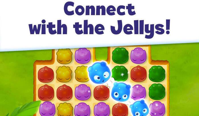Jelly Splash Puzzle iPhone and iPad Game Screenshot