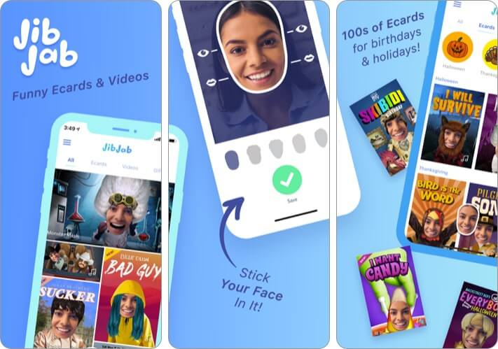 JibJab iPhone and iPad App Screenshot