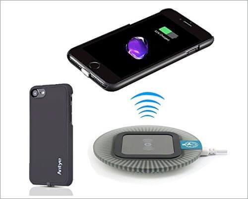 JinQiu iPhone 7 Wireless Charging Case