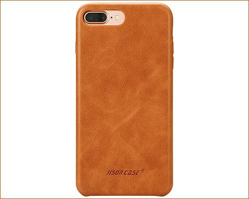 Jisoncase iphone 8 Plus Leather Case