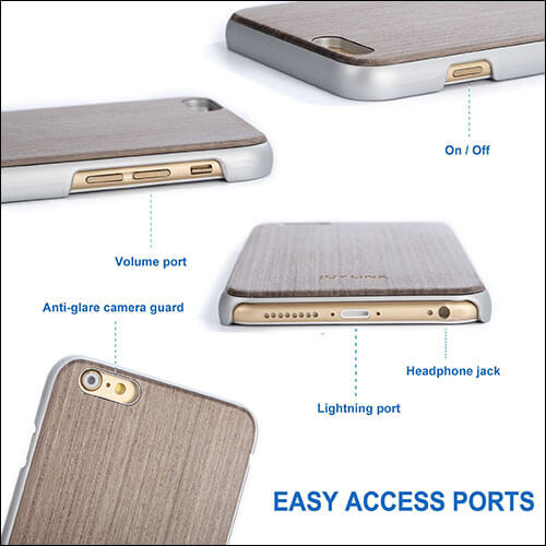 Joylink Wooden Case for iPhone 6-6s