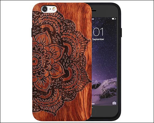 JuBeCo iPhone 6 Wooden Case
