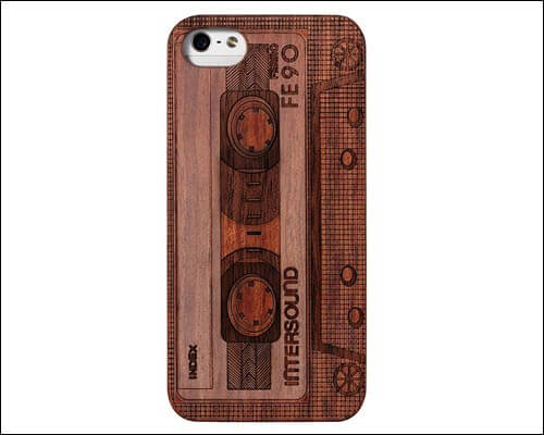 JuBeCo iPhone SE Wooden Case