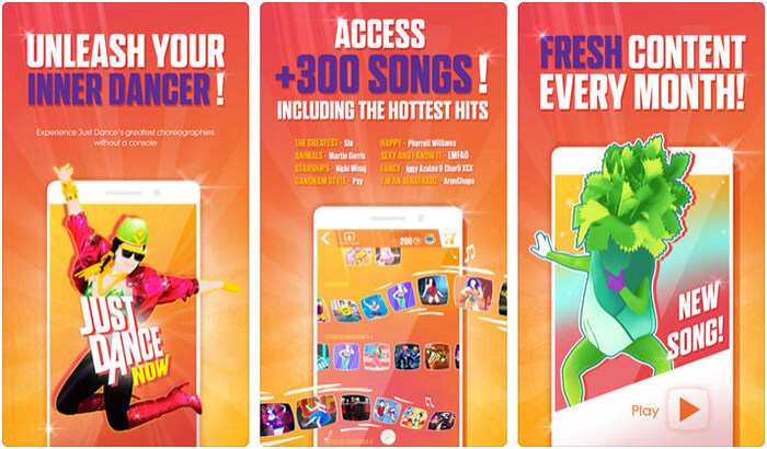 Just Dance Now iPhone and iPad App Screenshot