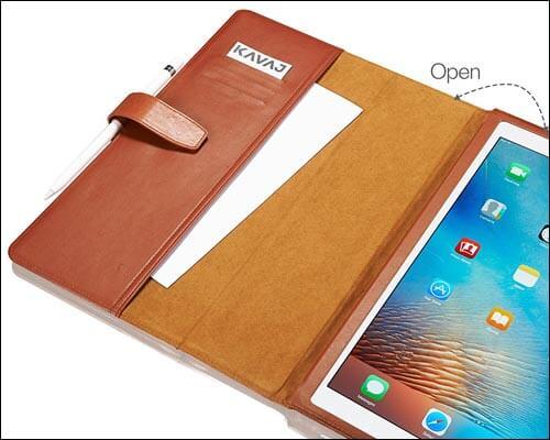 KAVAJ 10.5-inch iPad Pro Wallet Case
