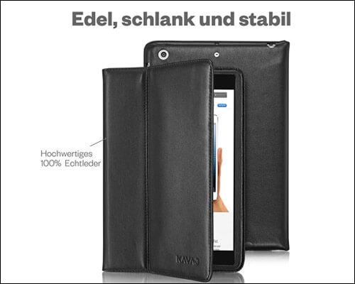 KAVAJ Leather Folio Case for 2019 iPad Mini