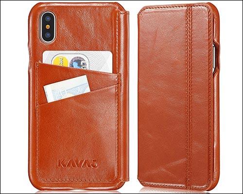 KAVAJ iPhone X Leather Case