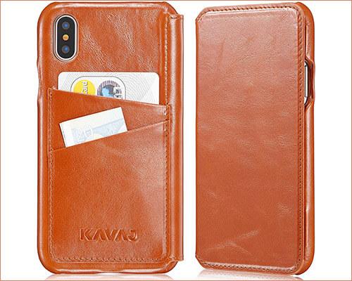 KAVAJ iPhone Xs Max Wallet Case