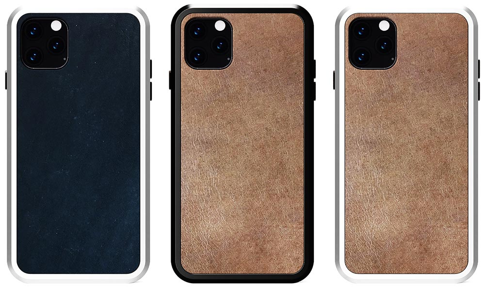 KERF Leather Alloy Cases for iPhone 11 Series